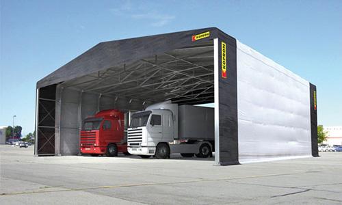 Antonio cocco coperture fisse e retrattili tunnel fissi for Kopron capannoni